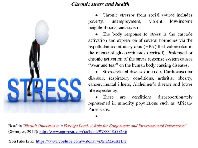 Chronic stress and health