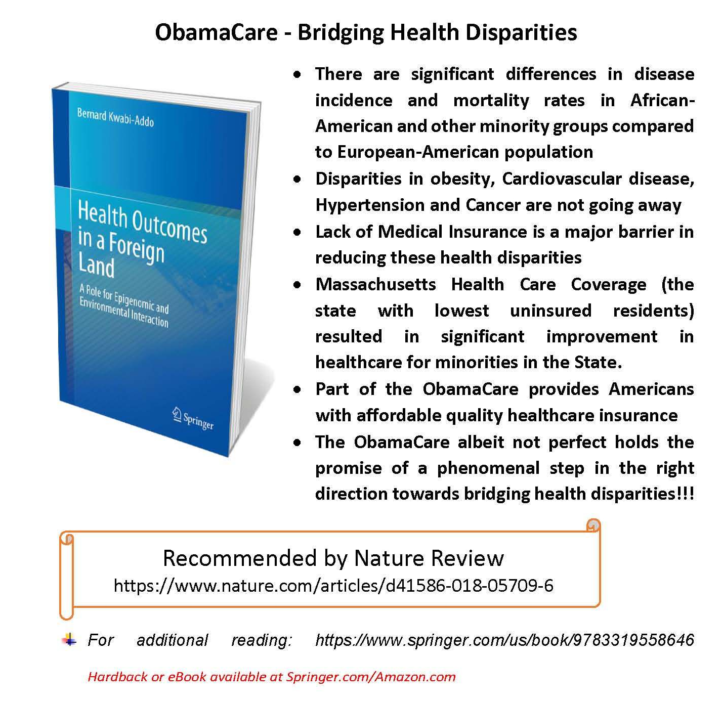 obamacare- bridging health disparities