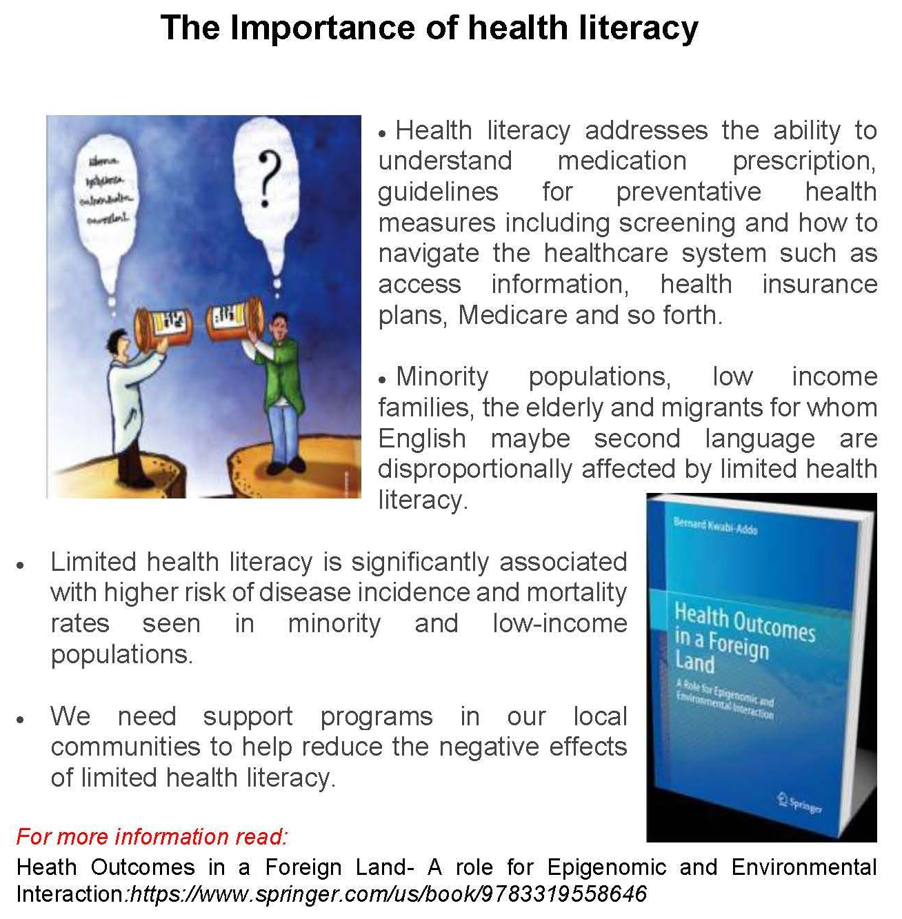 The Importance of health literacy