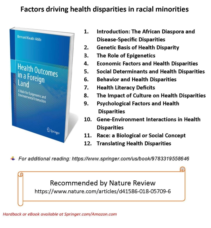 Factors driving health disparities in Racial Minorities